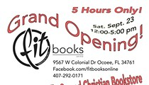FIT Books Grand Opening