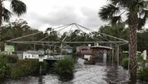 Hurricane Irma completely flooded Wekiva Island