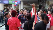 This video of Puerto Rican friends and family reuniting at Orlando International Airport is wonderful