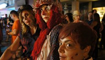 Living dead return to Audubon Park for the annual Zombietoberfest block party