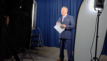 Here's Buddy Dyer recording the new welcome message for the airport