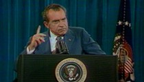 Today is the anniversary of Nixon's 'I am not a crook' speech at Disney World