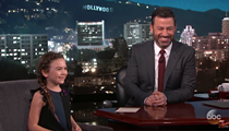 'Florida Project' star Brooklynn Prince was on Jimmy Kimmel last night and was adorable of course