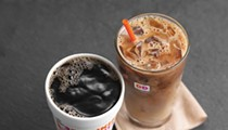 To celebrate the end of hurricane season, Dunkin' Donuts is giving out free iced coffee today