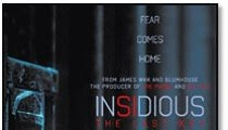 Win screening passes to see INSIDIOUS THE LAST KEY