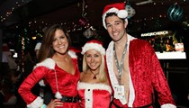 Get Santa-faced downtown during the 12 Bars of Christmas Pub Crawl