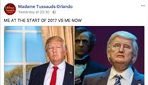 Madame Tussauds savagely roasts Disney's Donald Trump robot