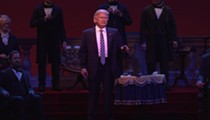 Disney World guest chants 'Lock him up' during Donald Trump's robot speech at  Hall of Presidents