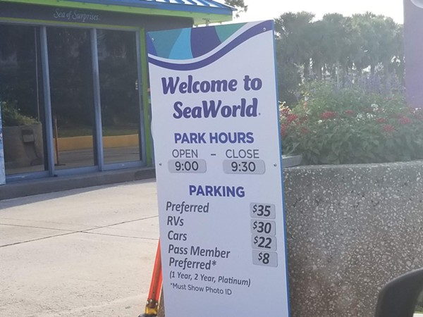 SeaWorld\'s new parking prices make absolutely no sense | Blogs