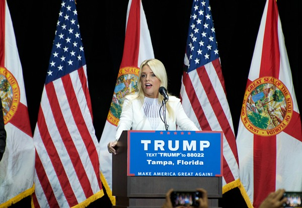 It sure sounds like Trump is talking to Florida AG Pam Bondi in Cohen's secret audio tape