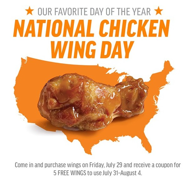 National Food Of The Day Calendar