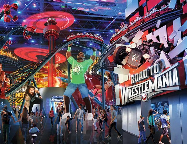 A Wwe Theme Park Is In The Works And Some Think It Might