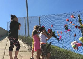 Florida lawmakers visit survivors of Parkland high school shooting