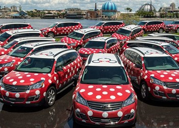 Guest or not, anyone in Orlando can now summon a Disney Minnie Van through Lyft