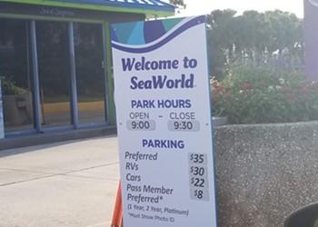 SeaWorld's new parking prices make absolutely no sense