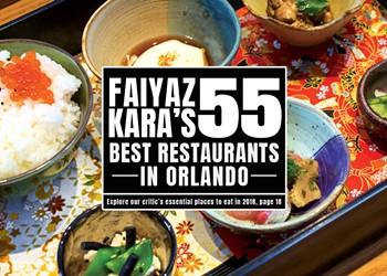 Faiyaz Kara's 55 best restaurants in Orlando