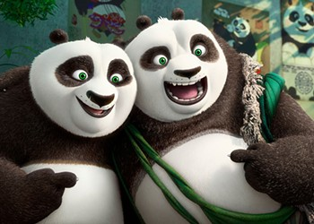 The newest panda in the Kung Fu franchise is sillier than it is funny