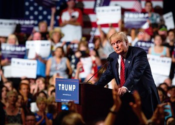 Protests planned for Saturday's Trump rally, as expected