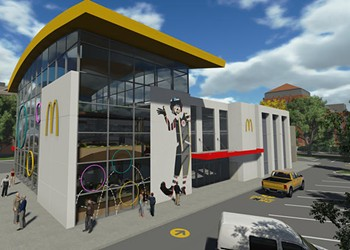 The new 'World's Largest Entertainment McDonald's' is set to reopen this week