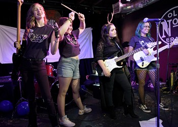 Girls Rock Camps in Central Florida amplify female voices, both literally and metaphorically