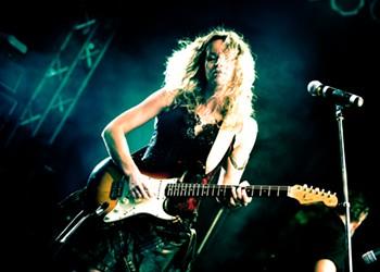International blues star Ana Popović comes to Winter Park's New Standard on Wednesday to shred the patriarchy