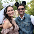 John Stamos is currently celebrating his honeymoon at Disney World