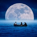 Take a romantic nighttime cruise on the Winter Park Chain of Lakes this Friday