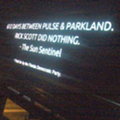 Florida Democrats knock Rick Scott on gun record via Orlando billboard