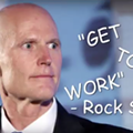 This is the only good video of Florida Gov. Rick Scott