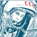 Nerd Nite celebrates Yuri Gagarin, the first human in space, at the Geek Easy