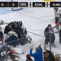 Nearly a year ago tonight, the Solar Bears got into one hell of a hockey fight