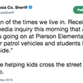 Here's an incredibly depressing tweet from the Volusia County Sheriff's Office