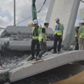 Florida officials ask judge to block release of records on collapsed FIU bridge