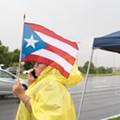 Puerto Rican evacuees set up 'tent city' to demand Rick Scott's help with housing
