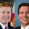 Putnam, DeSantis clash over support for Trump in Florida governor's debate