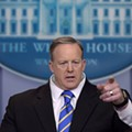 Former White House liar Sean Spicer is bringing his book tour to Florida