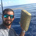 Florida fisherman catches marijuana brick, calls it an 'early birthday gift from Pablo Escobar'