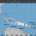 Here's Beryl, the first hurricane of the 2018 season