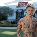 Madame Tussauds Orlando now has a shirtless Justin Bieber wax figure