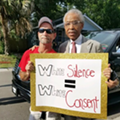 Al Sharpton and Trayvon Martin's family were among those rallying against 'stand your ground' in Clearwater