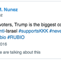 Ron DeSantis' running mate deletes tweet calling Trump a 'con-man' and KKK supporter