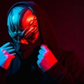 Masked EDM madman UZ takes over the dancefloor at Celine this week