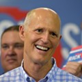 Rick Scott threw a party in the Florida governor's mansion after Ron DeSantis already moved in