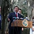 Gov. Ron DeSantis says Florida should change law and allow patients to smoke medical marijuana