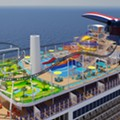 Carnival's newest cruise ship will feature two Guy Fieri restaurants, a roller coaster and more
