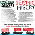 Seismic Misery: Last year's major donors to Gov. Rick Scott
