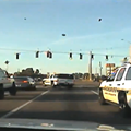Watch this insane dashcam footage of a police chase in Tavares, Florida
