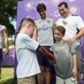 UCF and Orlando City SC come together to give a 6-year-old a new bionic arm