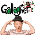 Controversial comic Gallagher headlines the Joke's on You Comedy Tour at the Plaza Live