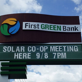 A local co-op is getting the ball rolling on affordable solar power